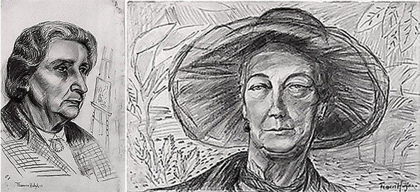 A question of authenticity: Are these Frances Hodgkins artworks real?