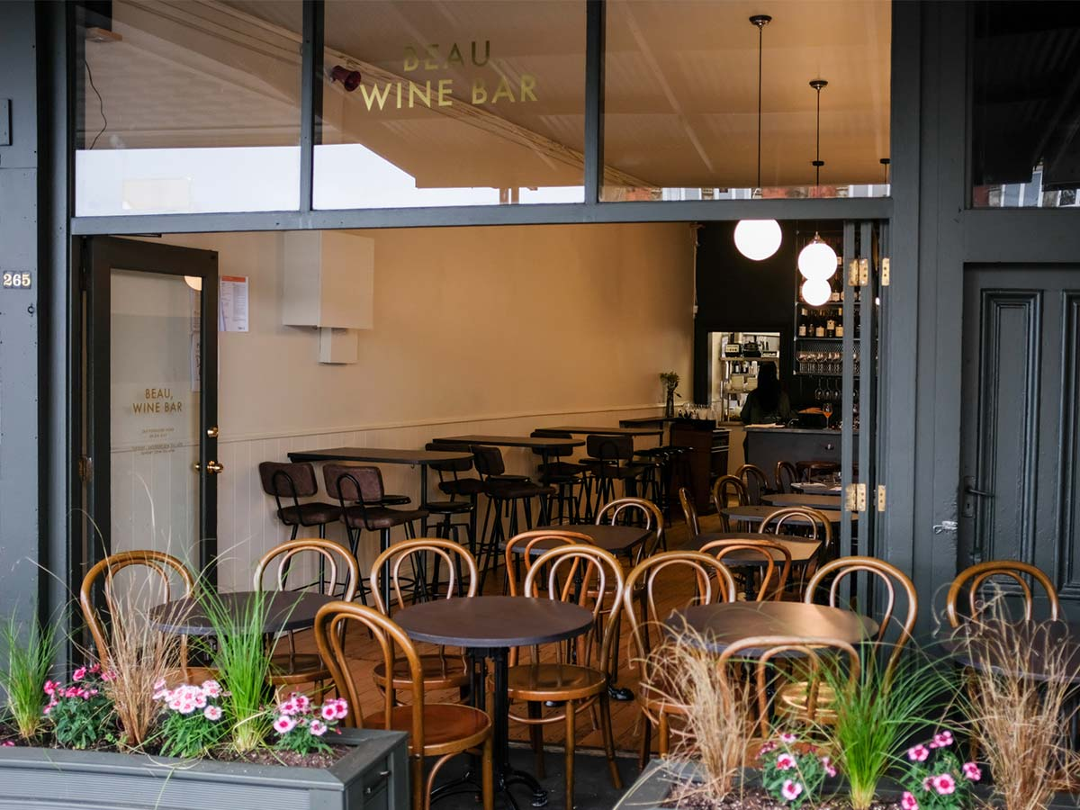 Beau, Wine Bar: A new venture in Three Lamps from the owners of Freaky cafe
