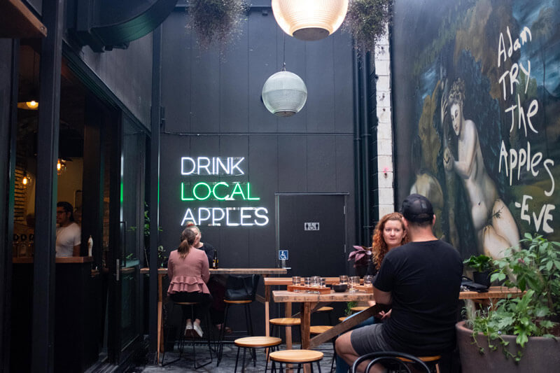 New bar Morningcidery is opening up the world of cider