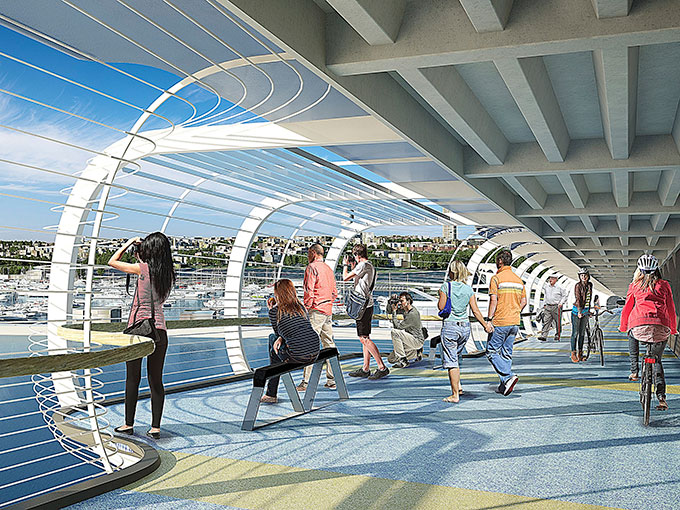 Sky Path: The long-awaited pedestrian and cycleway represents a new urbanism