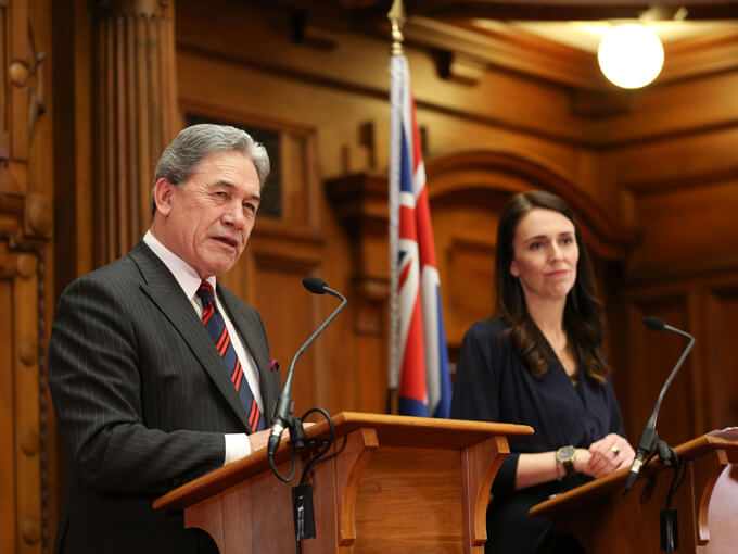Is Winston Peters's abortion referendum call a ploy to get Labour to break up with him?