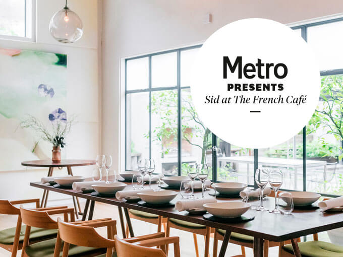 Metro presents: Sid at The French Café