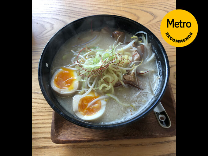 Metro Recommends: The pork ramen from &Sushi