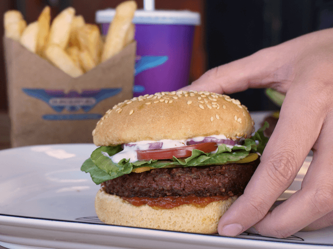 BurgerFuel launches new meat-free cheeseburger