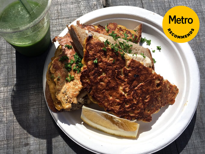 Metro Recommends: The mussel fritters from the Matakana Market