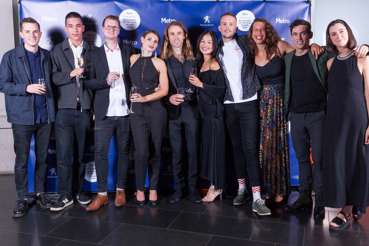 Inside the Metro Peugeot Restaurant Of The Year 2018 Awards