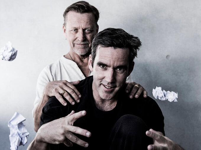The odd couple: Amadeus stars Michael Hurst and Ross McCormack