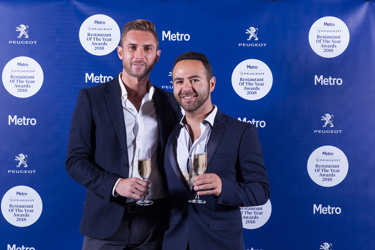 Inside the Metro Peugeot Restaurant Of The Year 2018 Awards