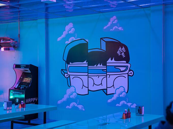 Futuristic burger bar Happy Boy opens in Royal Oak