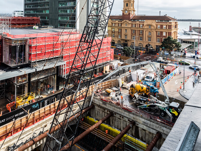 A land downunder: Behind the scenes building the City Rail Link