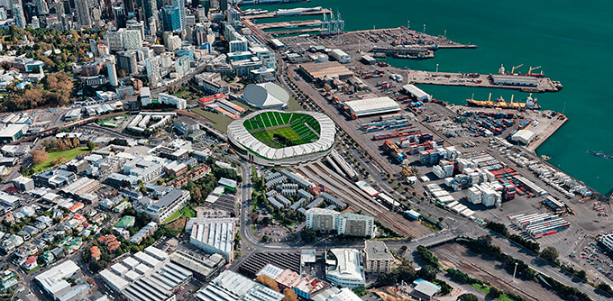 An Auckland stadium? Great, let's talk about design