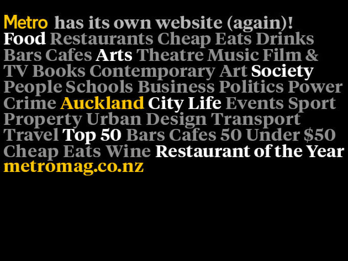 Welcome (back) to Metromag.co.nz