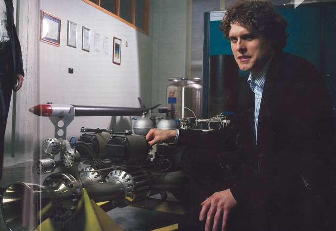 Rocket Lab's Peter Beck and Mark Rocket on their space plans