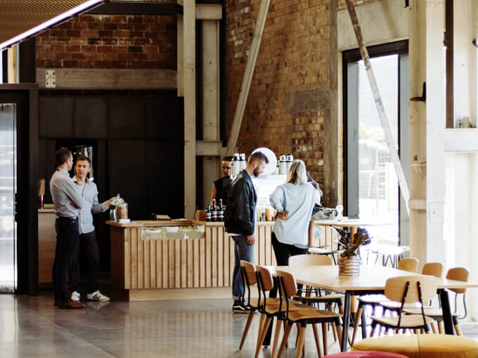 Revel in the architecture at new Wynyard Quarter cafe Laneway