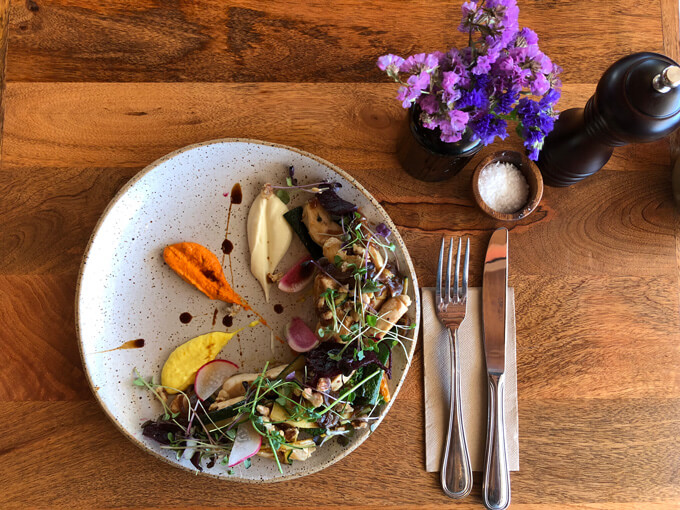 New Takapuna cafe Centro is proving popular with its artful dishes