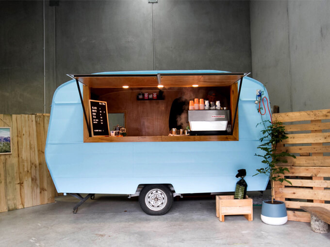 Yolanda and Wolfe is west Auckland's coolest new coffee caravan
