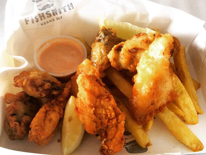 The best fish n' chips in Auckland