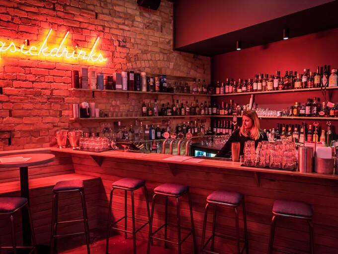 Next Door: A new, neon-lit cocktail bar opens in Kingsland