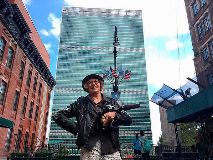 Gaylene Preston on the difficulties of filming at the United Nations