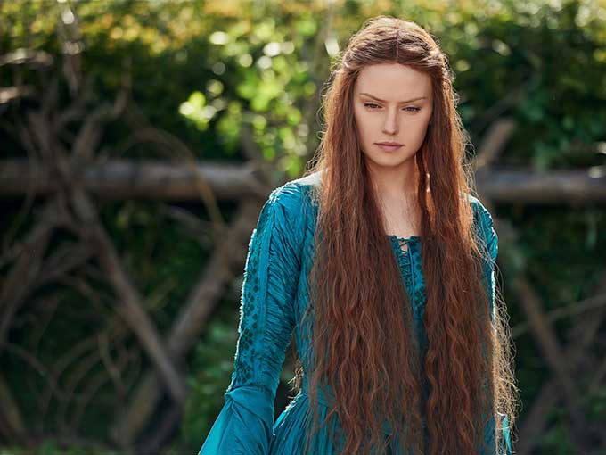 Ophelia, taken from Shakespeare's Hamlet, is a gorgeous adaptation