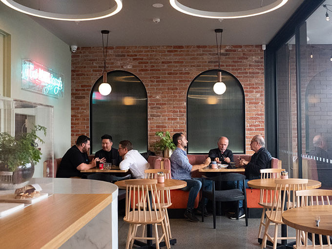 Eat Drink Laugh is a vibrant new eatery in Grey Lynn to do just that