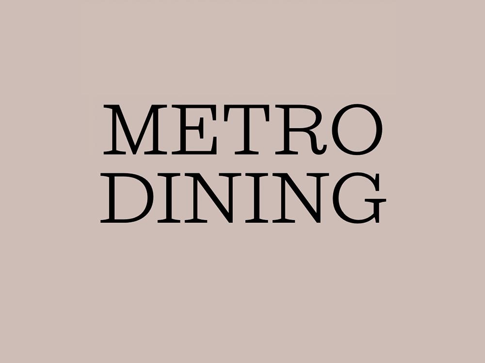 How Metro reviews restaurants