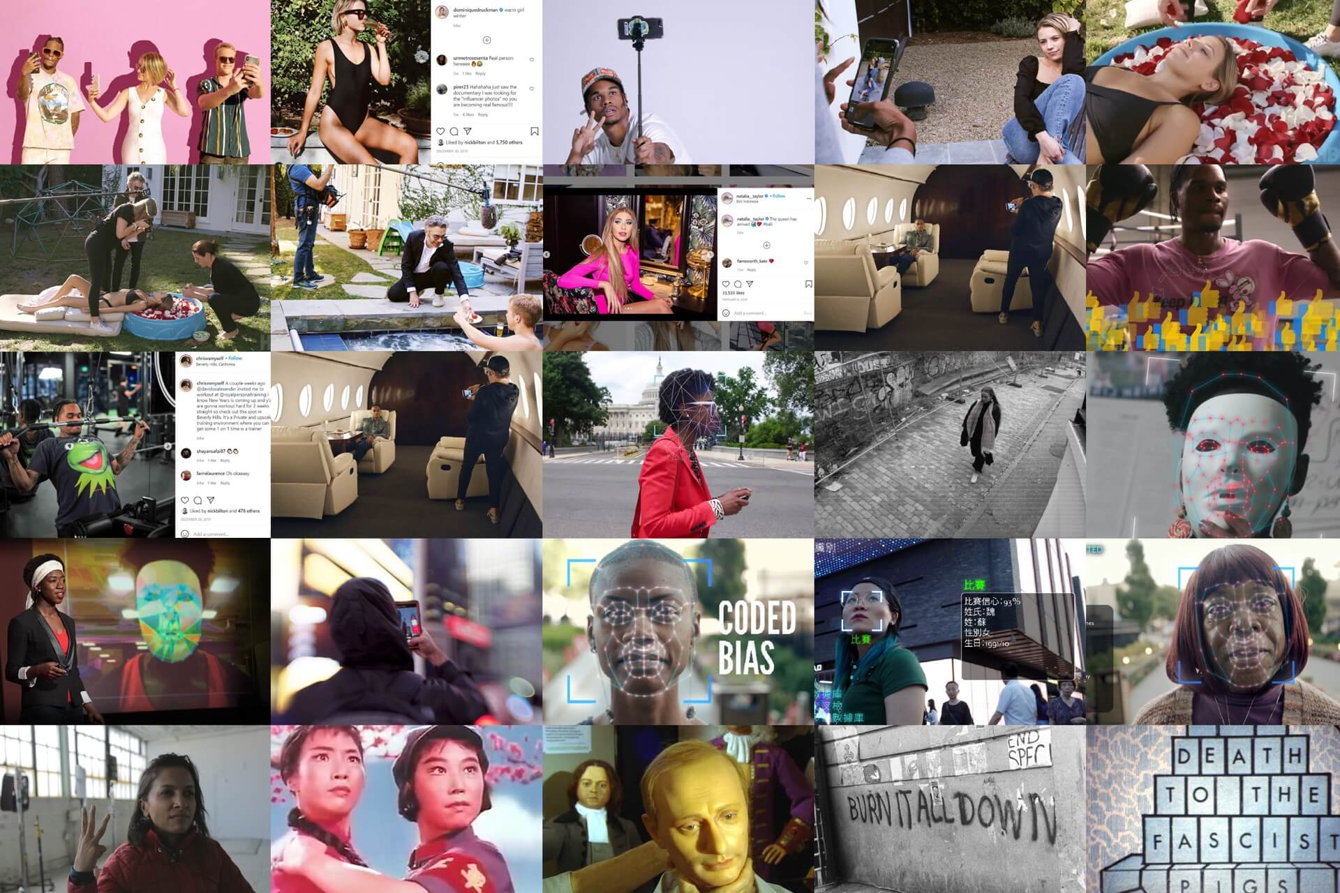 BROKEN PROMISES — Three documentaries trace our changing relationship to the internet