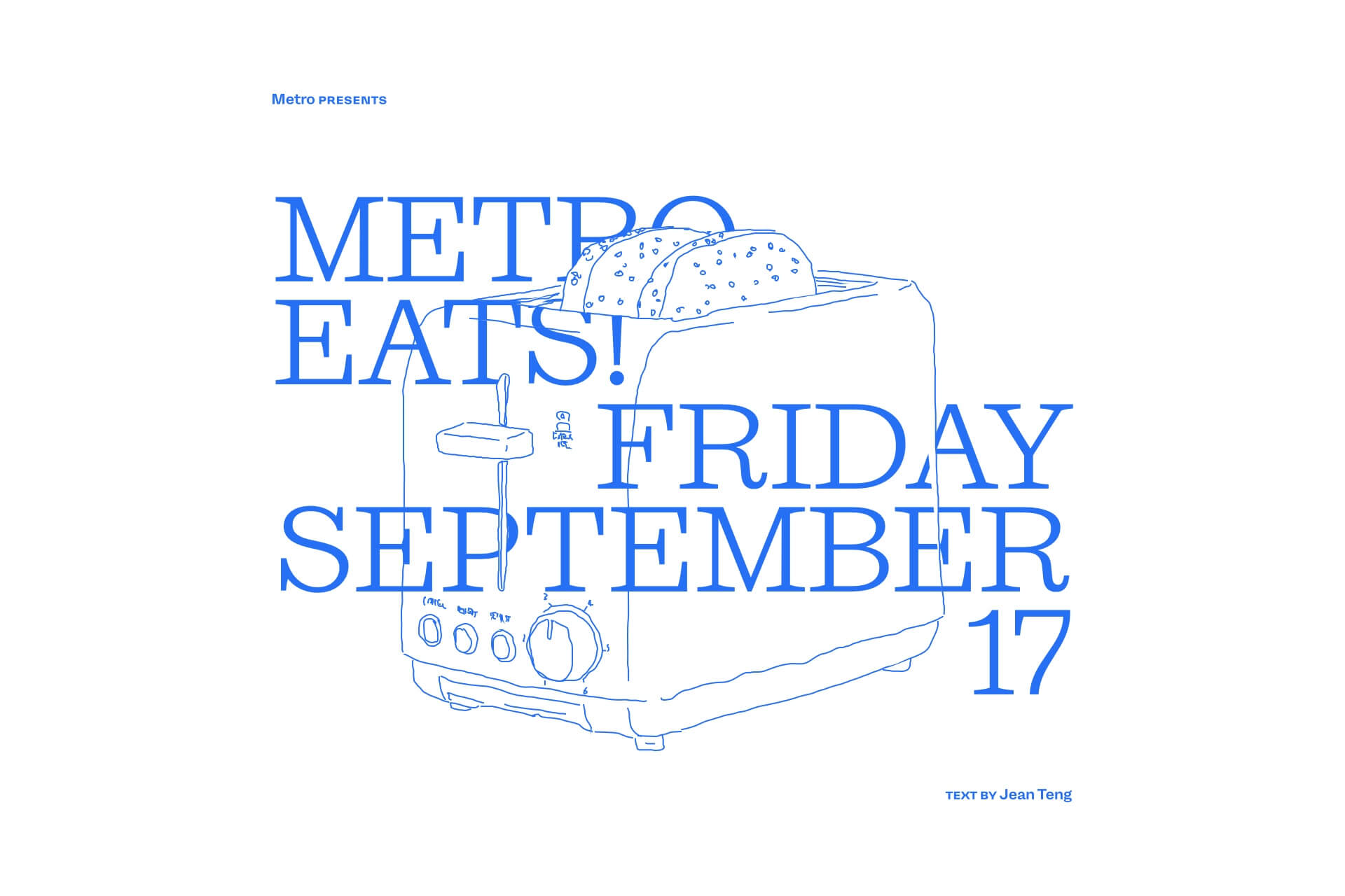 Metro Eats — Friday 17 September
