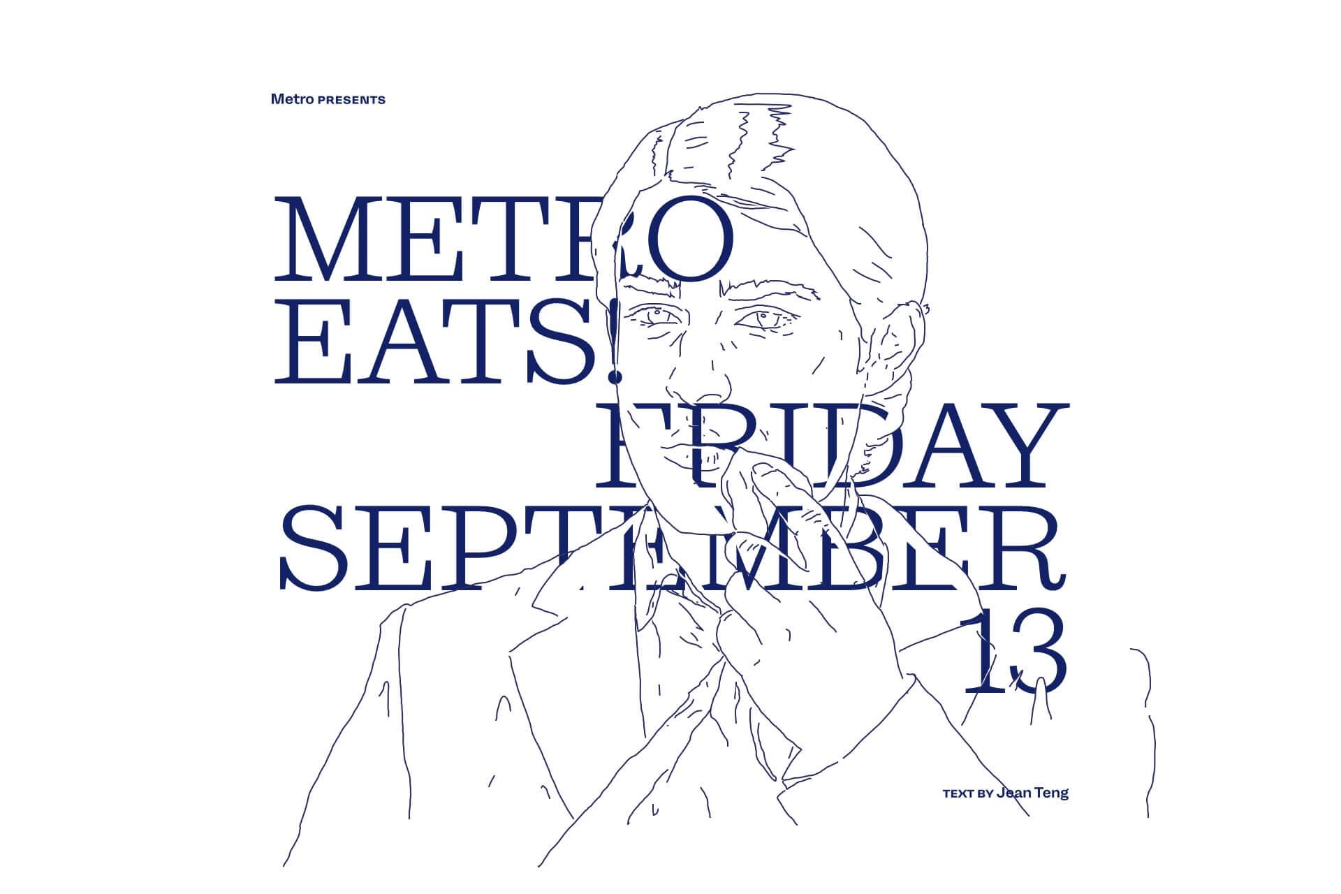 Metro Eats — Friday 3 September