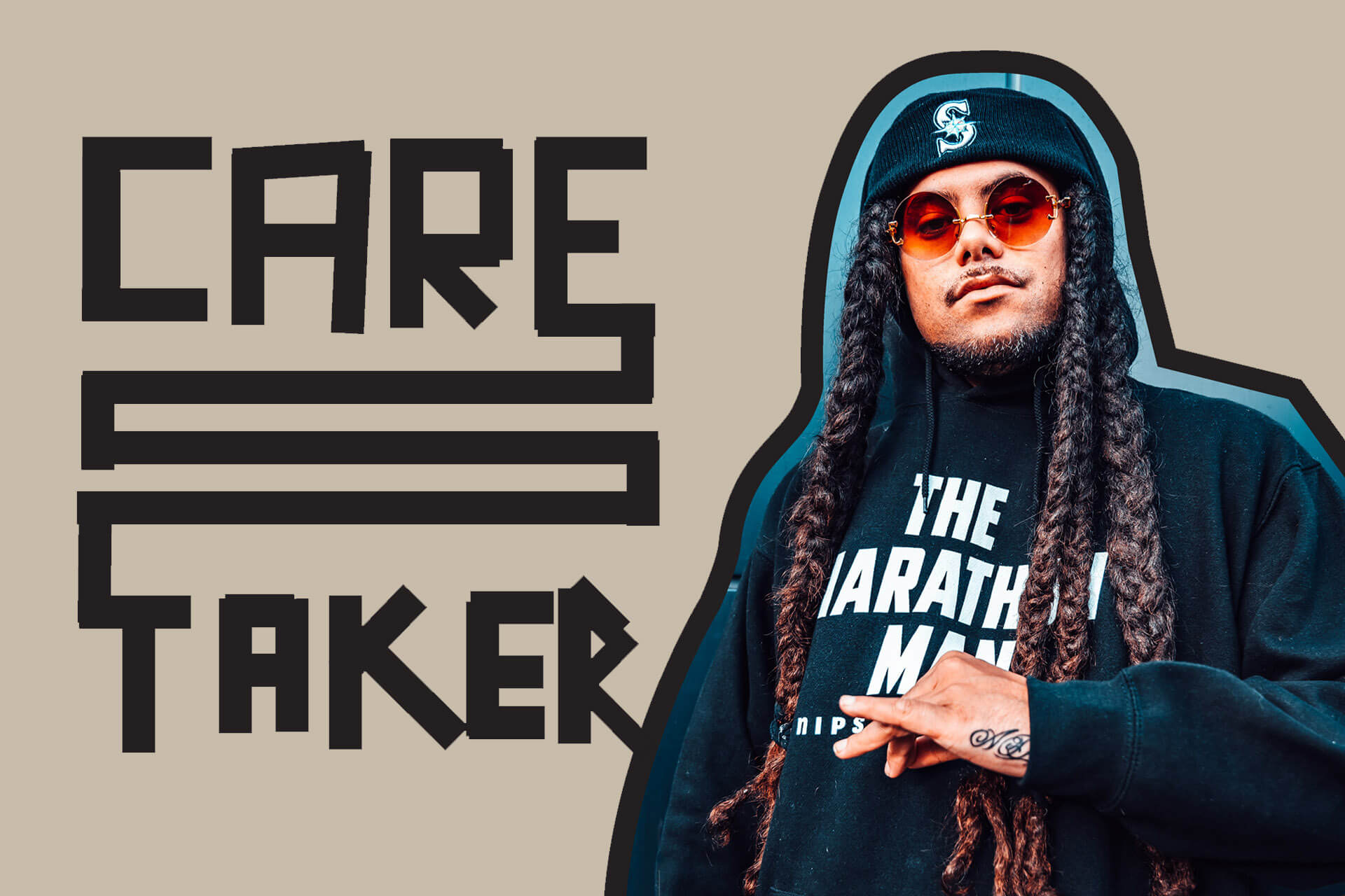 CARETAKER — The quiet power of rapper, poet and YouTube talkshow host MELODOWNZ