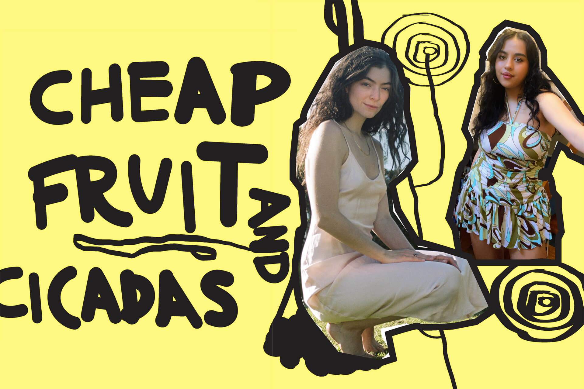 CHEAP FRUIT & CICADAS — A conversation between Tayi Tibble and Lorde